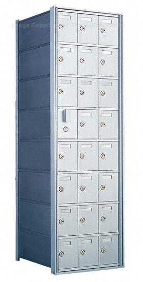 Florence Private Distribution Mailboxes 4B+ Horizontal 1600 Series 24 Door (23 Useable) 8 High Product Image