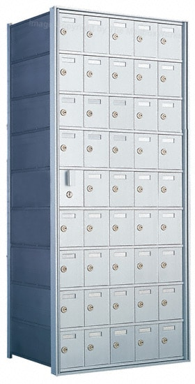Florence Private Distribution Mailboxes 4B+ Horizontal 1600 Series 45 Door (44 Useable) 9 High