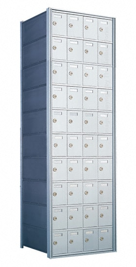 Florence Private Distribution Mailboxes 4B+ Horizontal 1700 Series 40 Door 10 High