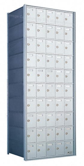 Florence Private Distribution Mailboxes 4B+ Horizontal 1700 Series 50 Door 10 High