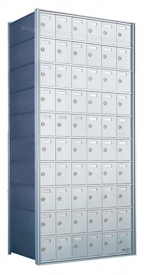 Florence Private Distribution Mailboxes 4B+ Horizontal 1700 Series 60 Door 10 High