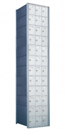 Florence Private Distribution Mailboxes 4B+ Horizontal 1700 Series 36 Door 12 High