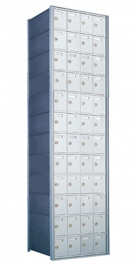 Florence Private Distribution Mailboxes 4B+ Horizontal 1700 Series 48 Door 12 High