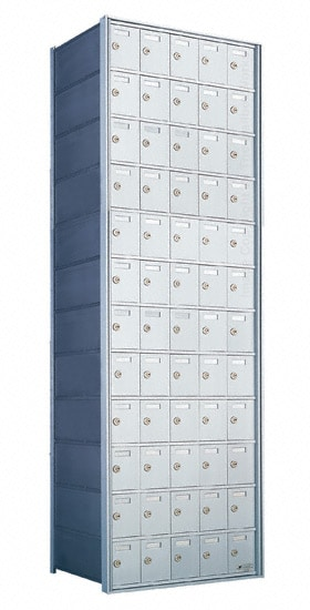 Florence Private Distribution Mailboxes 4B+ Horizontal 1700 Series 60 Door 12 High