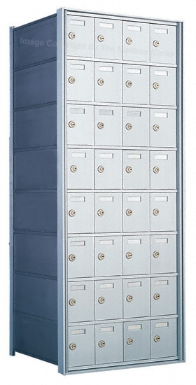 1700 Private Distribution Mailboxes 32 Door