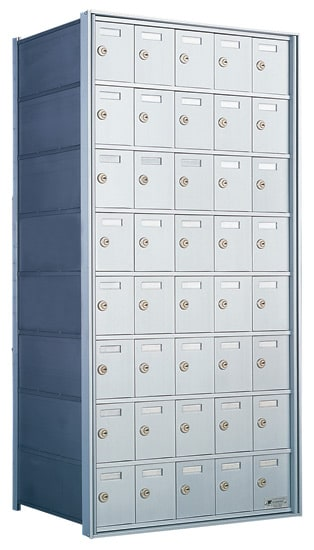 Florence Private Distribution Mailboxes 4B+ Horizontal 1700 Series 40 Door 8 High Product Image