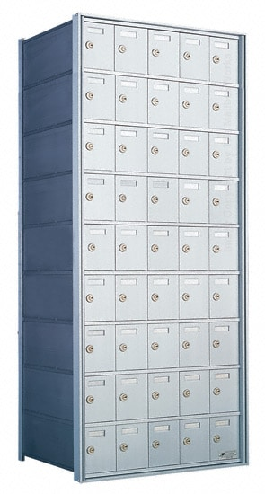 Florence Private Distribution Mailboxes 4B+ Horizontal 1700 Series 45 Door 9 High