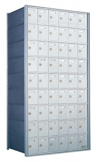 Florence Private Distribution Mailboxes 4B+ Horizontal 1700 Series 54 Door 9 High Product Image