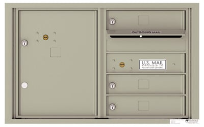 4C05D03 4C Horizontal Commercial Mailboxes