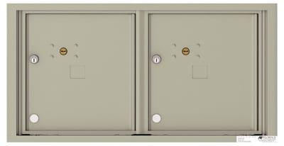 4C05D2P 4C Horizontal Commercial Mailboxes