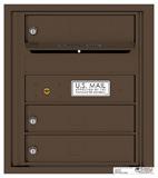 Florence 4C Mailboxes 4C05S-03 Antique Bronze