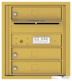 Florence 4C Mailboxes 4C05S-03 Gold Speck