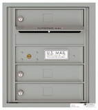 Florence 4C Mailboxes 4C05S-03 Silver Speck