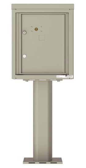 4C05S1P Parcel Lockers 4C Pedestal Mailboxes