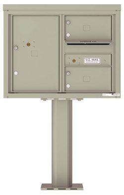 4C06D02-P Commercial 4C Pedestal Mailboxes