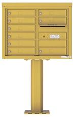 Florence 4C Pedestal 4C06D-09-P Gold Speck