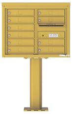 Florence 4C Pedestal 4C06D-10-P Gold Speck