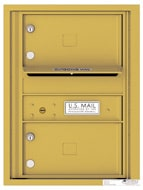 Florence 4C Mailboxes 4C06S-02 Gold Speck