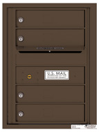 Florence 4C Mailboxes 4C06S-04 Antique Bronze