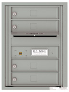 Florence 4C Mailboxes 4C06S-04 Silver Speck