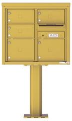 Florence 4C Pedestal 4C07D-05-P Gold Speck