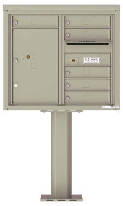 4C07D06-P Commercial 4C Pedestal Mailboxes