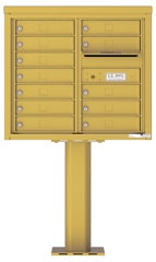 Florence 4C Pedestal 4C07D-12-P Gold Speck