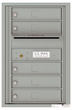 Florence 4C Mailboxes 4C07S-05 Silver Speck