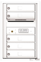 Florence 4C Mailboxes 4C07S-05 White