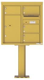 Florence 4C Pedestal 4C08D-04-P Gold Speck