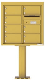 Florence 4C Pedestal 4C08D-07-P Gold Speck