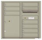 Florence 4C Mailboxes 4C08D-09 Postal Grey
