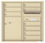 Florence 4C Mailboxes 4C08D-09 Sandstone
