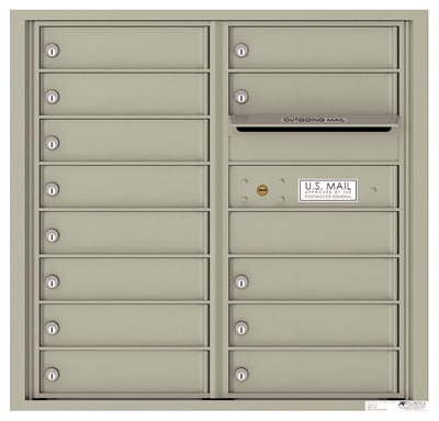 4C08D13 4C Horizontal Commercial Mailboxes
