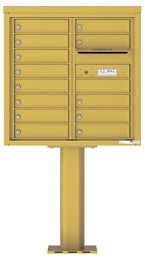 Florence 4C Pedestal 4C08D-13-P Gold Speck