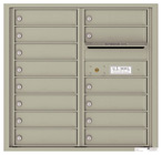 Florence 4C Mailboxes 4C08D-14 Postal Grey