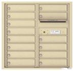 Florence 4C Mailboxes 4C08D-14 Sandstone