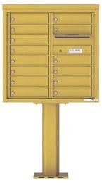 Florence 4C Pedestal 4C08D-14-P Gold Speck