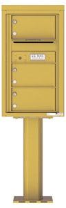 Florence 4C Pedestal 4C08S-03-P Gold Speck