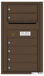 Florence 4C Mailboxes 4C08S-06 Antique Bronze