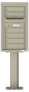 Florence 4C Pedestal 4C08S-06-P Postal Grey