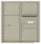 Florence 4C Mailboxes 4C09D-04 Postal Grey