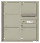 Florence 4C Mailboxes 4C09D-06 Postal Grey
