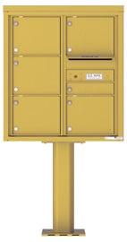 Florence 4C Pedestal 4C09D-06-P Gold Speck
