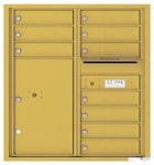 Florence 4C Mailboxes 4C09D-10 Gold Speck
