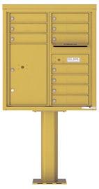 Florence 4C Pedestal 4C09D-10-P Gold Speck