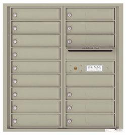4C09D15 4C Horizontal Commercial Mailboxes