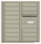 Florence 4C Mailboxes 4C09D-15 Postal Grey