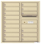 Florence 4C Mailboxes 4C09D-15 Sandstone