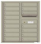 Florence 4C Mailboxes 4C09D-16 Postal Grey
